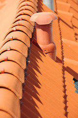 roof tile orange backgrounds 4