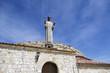 Statue of Christ the Otero in Palencia, Spain