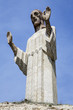 Statue of Christ the Otero in Palencia, Spain