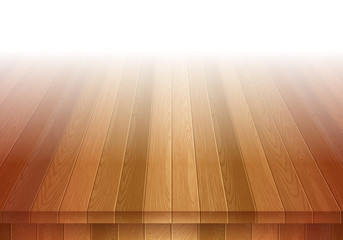 Old brown wooden floor. Stage background.