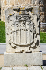 coat of arms belonging to the walls of Avila