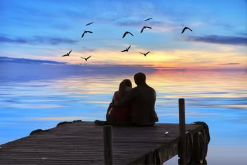 amor en medio del mar