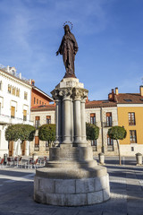 Immaculate Mary statue Palencia
