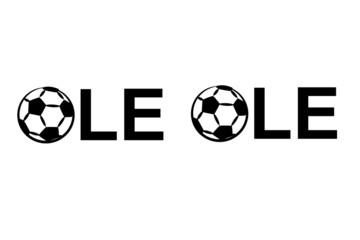Fussball Ole Ole