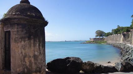 Garita, Guardia y Muralla del Viejo San Juan, Puerto Rico