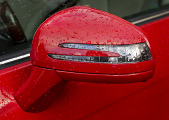 side view mirror turn signal