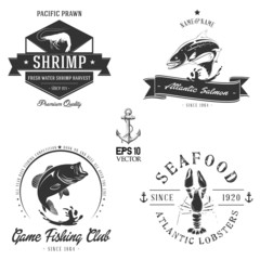 Bitmap Sea animals badge collection