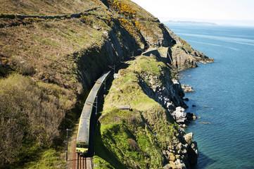 Cliffwalking Between Bray and Greystones, Ireland