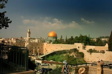 Tierra Santa las mezquitas y el Muro