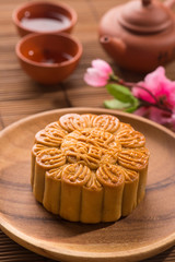 traditional chinese mooncake in festival