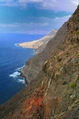 costa canaria camino a Agaete