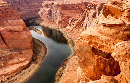 Fototapeta Deep Canyon Colorado River Desert Southwest Natural Scenic Lands