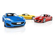 Collection of 3D Sport Cars