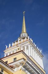 Адмиралтейский шпиль. Санкт-Петербург