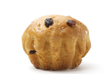 Close-up of the easter bread