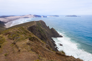 Northland sand beach near Cape Reinga New Zealand
