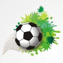 Fussballhintergrund