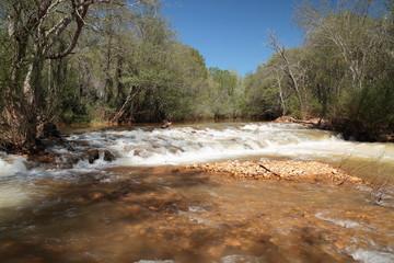 Río Eria. San Esteban de Nogales, León.