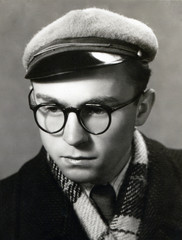 young man from the turn of the 40s and 50s
