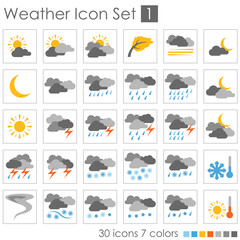 Weather Icon Set 1