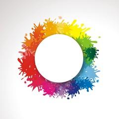 bunter Hintergrund mit Farbklecksen