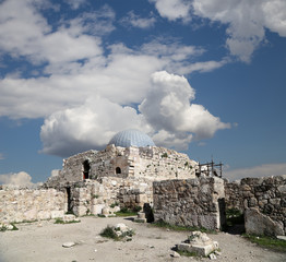 The old Umayyad Palace, Jordan's capital Amman
