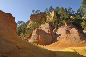 Ochre - Roussillon, Provence, France