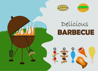 barbecue invitation