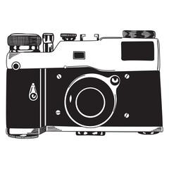 Sketch photo camera