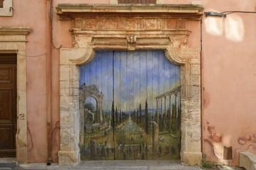 Provencal door, France