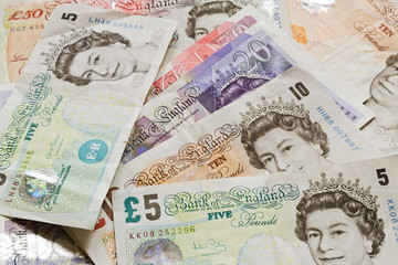 British Money Notes