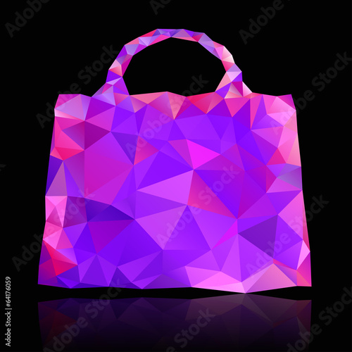 Bag shape with triangular