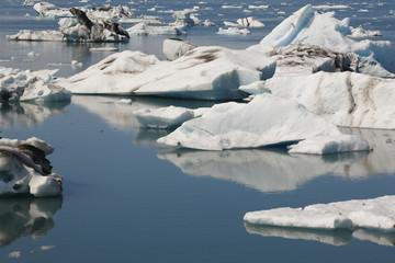 Iceland. Southeast area. Jokulsarlon. Icebergs.