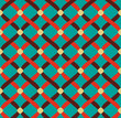 vector seamless retro abstract pattern
