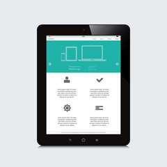 tablet responsive webdesign
