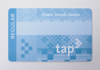 Los Angeles TAP card