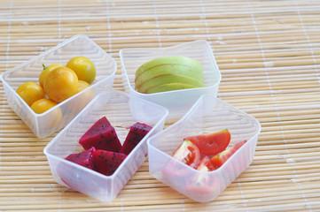 Fresh Fruit on The Box