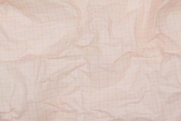 Foglio di carta accartocciata - millimetro