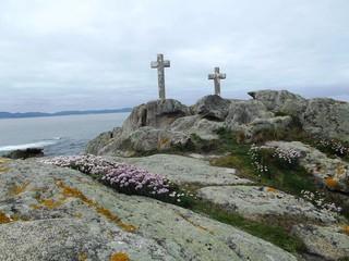 Cruces en Punta Roncudo, Costa da Morte