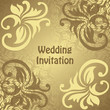 Wedding invitation. Can be used as card