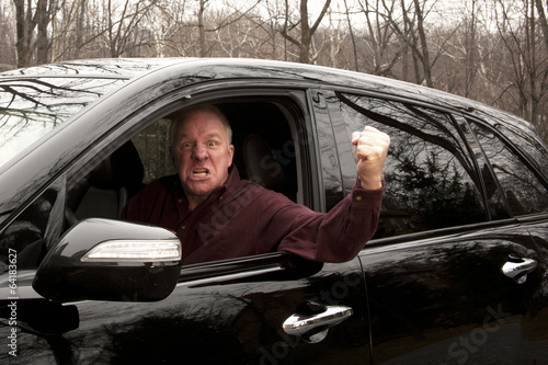 Angry driver - 64183627