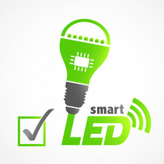 picto ampoule smart LED