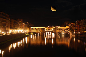 In Florence, on a night with a full moon - Florence - Tuscany -