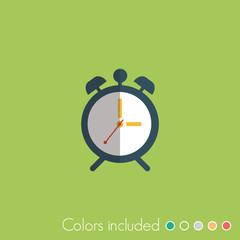 Alarm clock - FLAT UI ICON COLLECTION