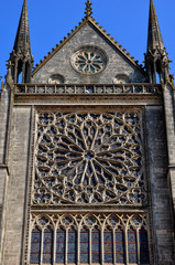 France, historical cathedral of Sees