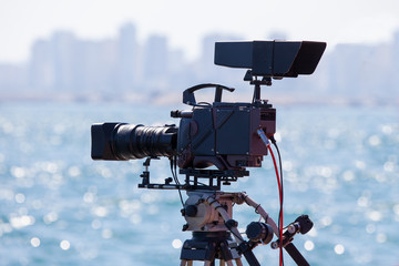 Broadcasting and Recording with Digital Camera