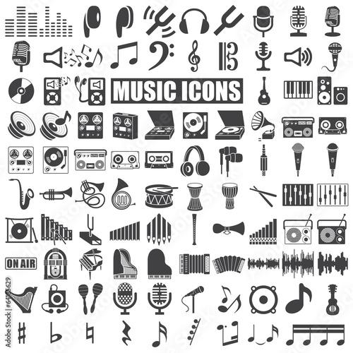 Music Icons - 64185629