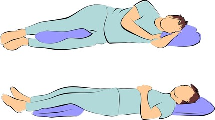 Sleeping with back pain