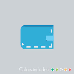 Wallet - FLAT UI ICON COLLECTION