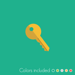 Key - FLAT UI ICON COLLECTION